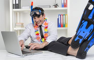 Aktueller Blogbeitrag: Aus dem Urlaub ins Büro – so gelingt der Übergang entspannt